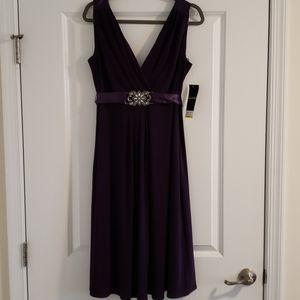 Eggplant Cocktail Dress